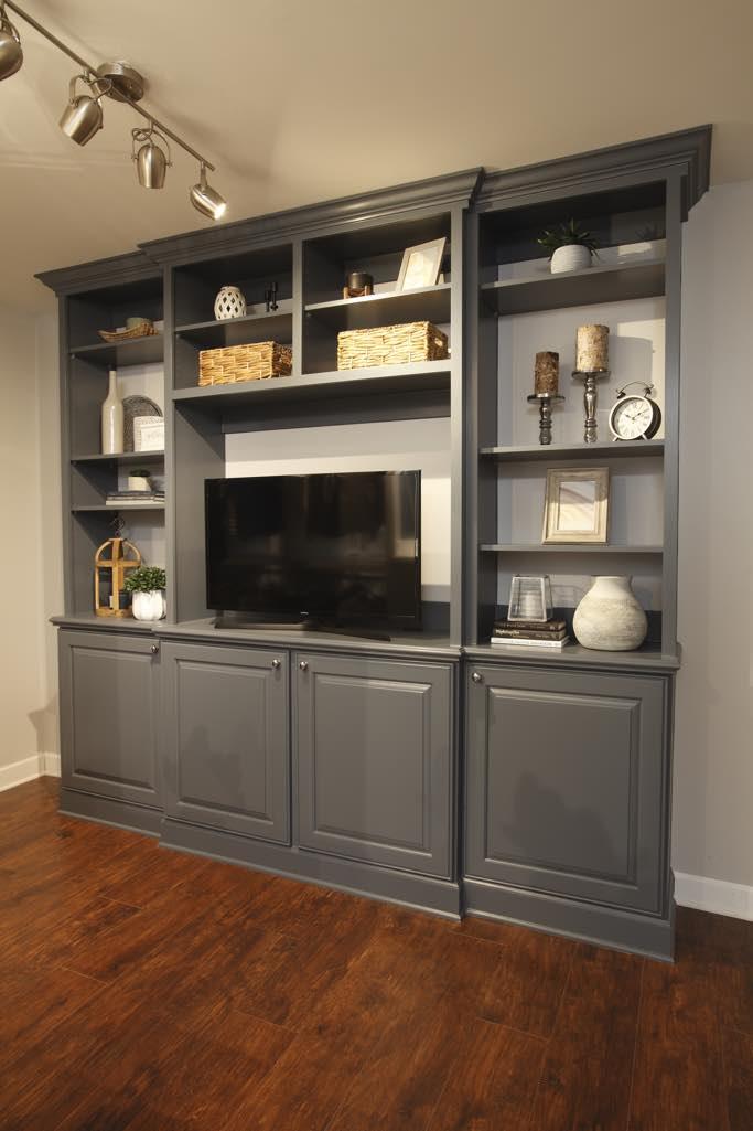 Built Ins And Bookshelves The Closet Company Nashville Tn