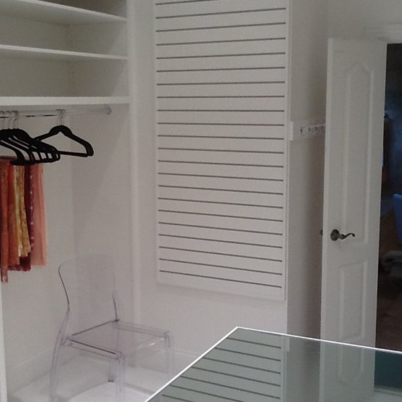 Custom Closet Area Beautiful and Elegant Ladies Dressing Room - The Closet Company