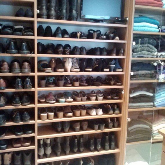 Custom Shoe Shelves Anandale Master Bedroom Closet - The Closet Company