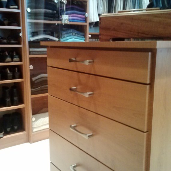 Drawers Anandale Master Bedroom Closet - The Closet Company