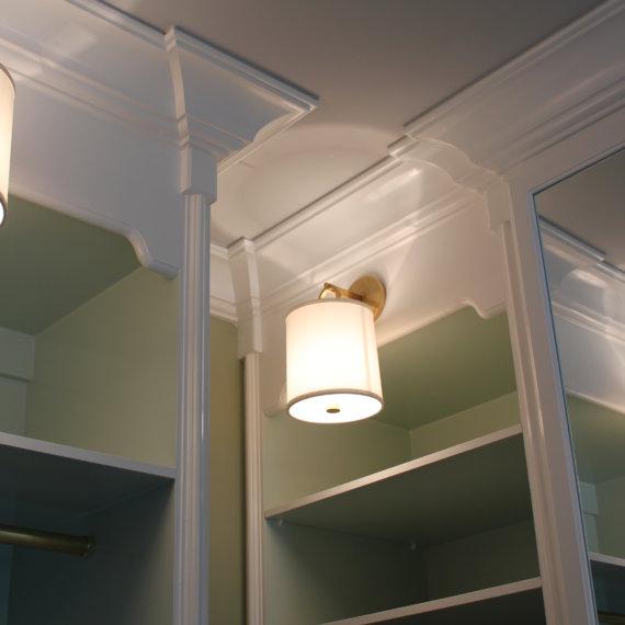 Sconces Williamson County Dressing Room - The Closet Company