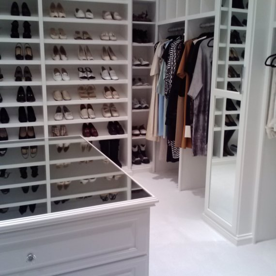 Shoes and Closet Beautiful and Elegant Ladies Dressing Room - The Closet Company