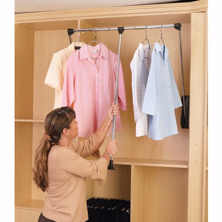 Wardrobe Lift 1 - The Closet Company