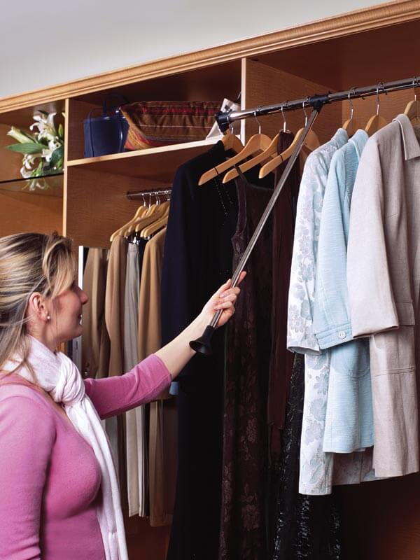 Wardrobe Lift pull down - The Closet Company