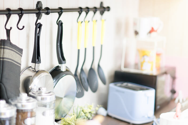10 Ways To Create Counter Space in the Kitchen | The Closet ...